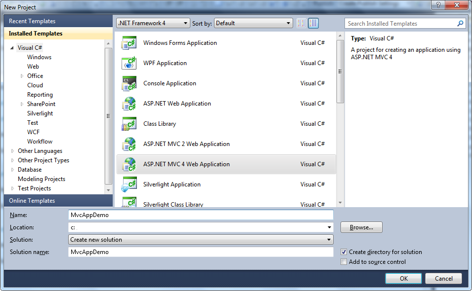 Single page applications in asp.net mvc 4