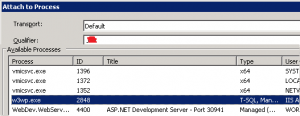 How to Debug ASP NET Web Application Hosted in IIS Using Visual Studio2
