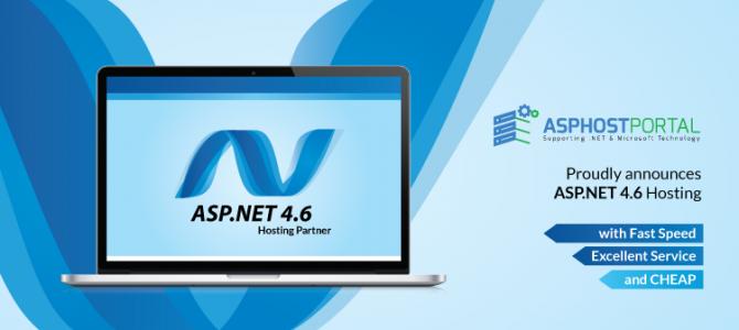 ASPHostPortal.com Announces ASP.NET 4.6 Hosting Solution