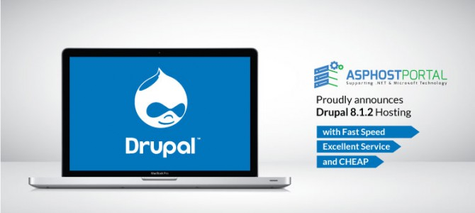 ASPHostPortal.com Announces Drupal 8.1.2 Hosting Solution
