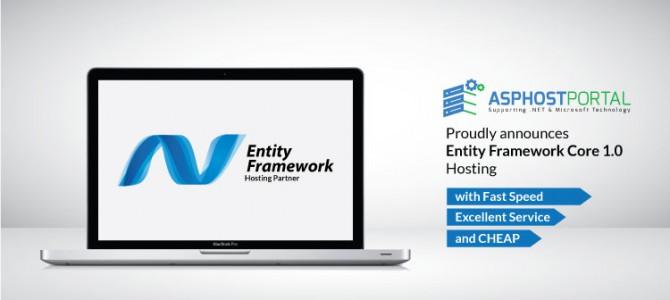 ASPHostPortal.com Announces Entity Framework Core 1.0 Hosting Solution