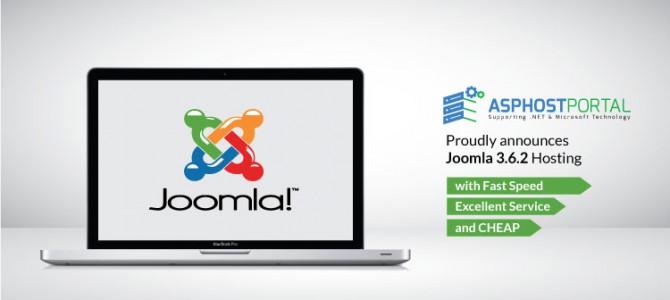 ASPHostPortal.com Announces Joomla 3.6.2 Hosting Solution