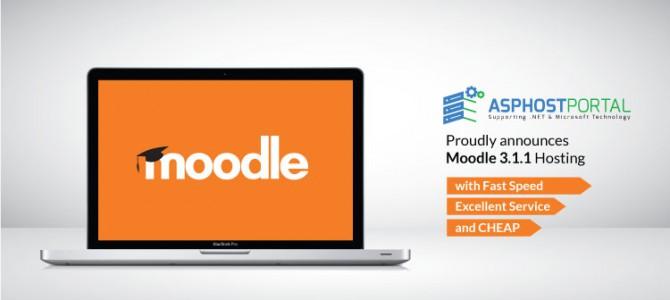 ASPHostPortal.com Announces Moodle 3.1.1 Hosting Solution
