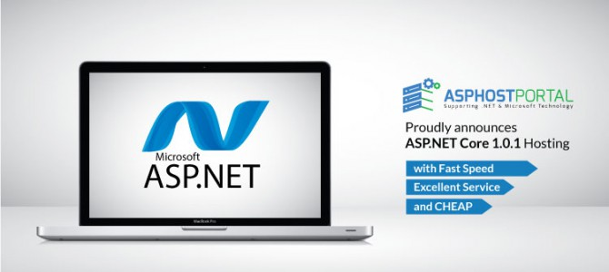 ASPHostPortal.com Announces ASP.NET Core 1.0.1 Hosting Solution