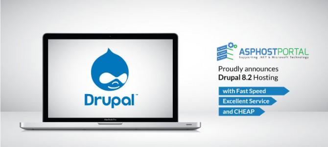 ASPHostPortal.com Announces Drupal 8.2 Hosting Solution