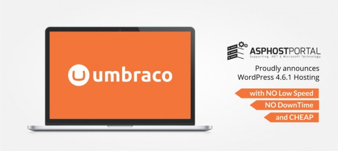 ASPHostPortal.com Announces Umbraco 7.5.7 Hosting Solution