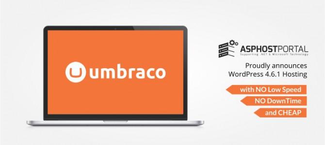 ASPHostPortal.com Announces Umbraco 7.5.7 Hosting Solution