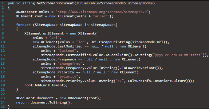 ASP NET Tutorial – How to Dynamically Generate Sitemaps for